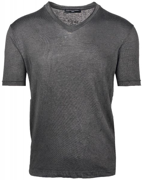 Daniele Fiesoli V-Neck T-Shirt - Dark Grey