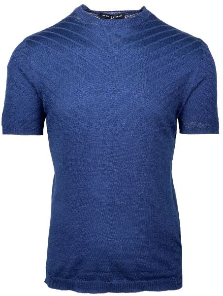 Daniele Fiesoli Knitted T-Shirt - Dark Blue