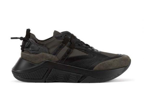 Giorgio Armani Suede Sneakers - Dark Green