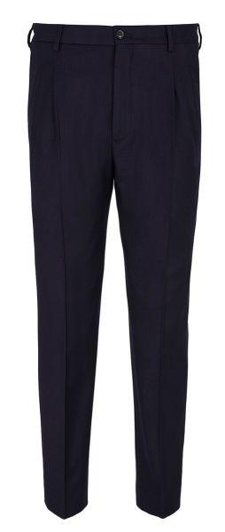 Giorgio Armani Pants Wool - Navy Blue