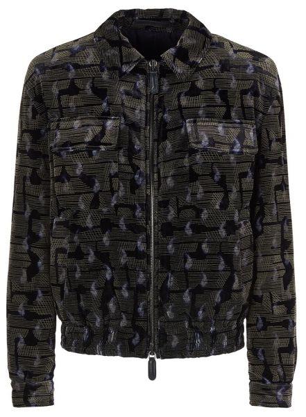 Giorgio Armani Blouson Jacket - Dark Blue