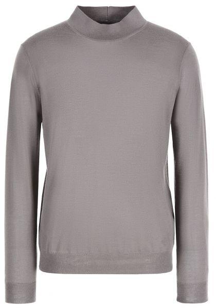 Giorgio Armani Knitted Mockneck - Grey