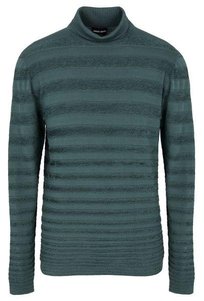 Giorgio Armani Knitted Turtleneck - Green