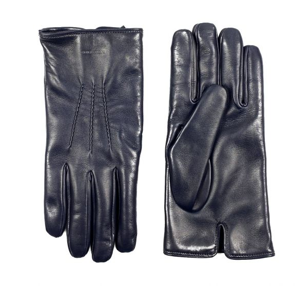 Giorgio Armani Gloves - Dark Blue