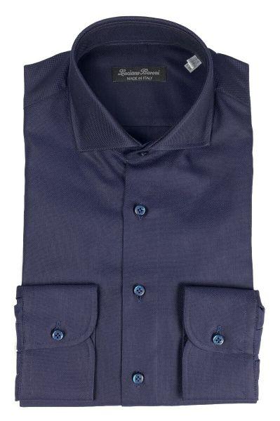 Luciano Baroni Shirt Piave - Donkerblauw