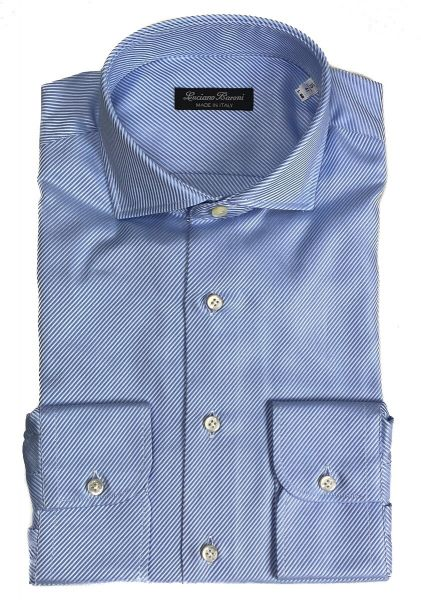 Luciano Baroni Shirt Varenne - Light Blue