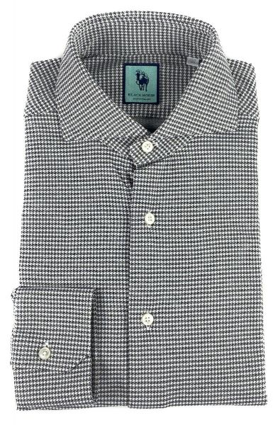 Xacus Stretch Shirt - White/Green