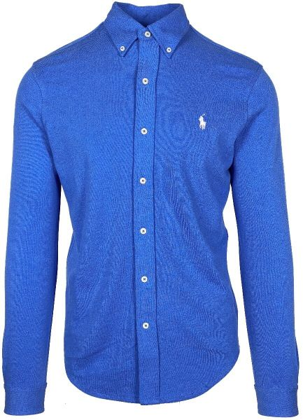 Ralph Lauren Stretch Mesh Shirt - Dockside Blue