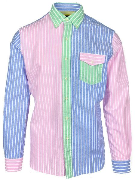 Ralph Lauren Fun Stripe Shirt - Multicolour