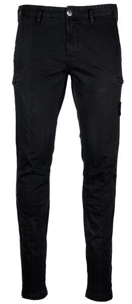 Stone Island Skinny Fit Cargo Pants - Black