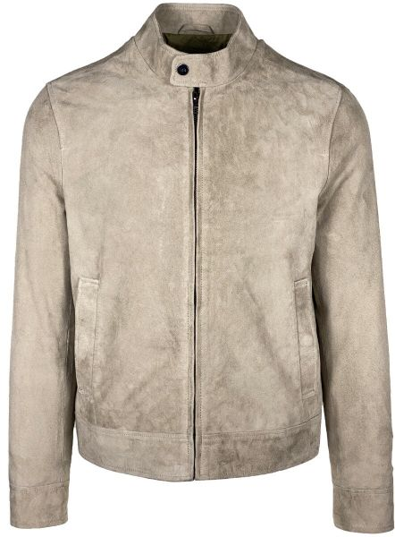 Lab Pal Zileri Suede Jacket - Beige