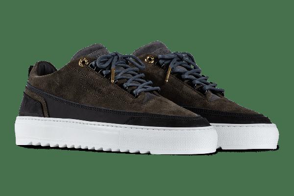Mason Garments Firenze Sneaker - Bi-Color Green Black