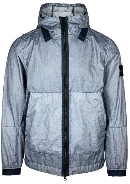 Stone Island Membrana 3L TC Jacket - Blue Grey