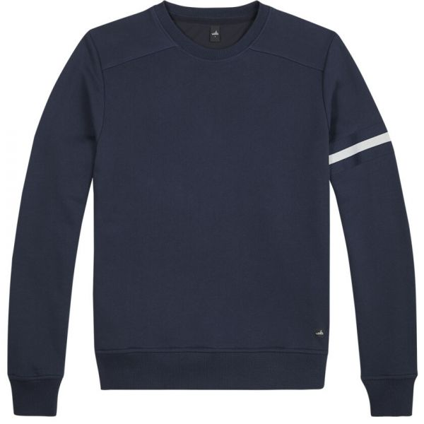 Wahts Moore Sweater - Navy Blue