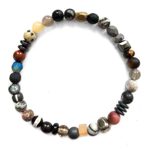 Kaoss Bracelet - Multicolour Grey