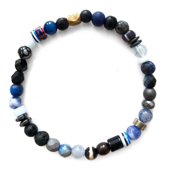 Kaoss Bracelet - Multicolour Light Blue