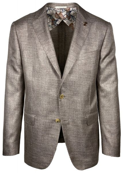 Pal Zileri Jacket - Brown Mixed