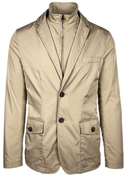 LAB Pal Zileri Outerwear Jacket - Camel