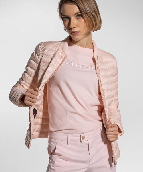 Peuterey Ultralight And Water Repellent Down Jacket - Powder Pink