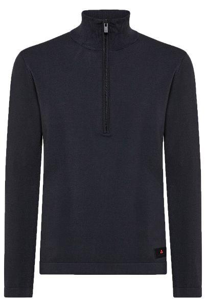 Peuterey Regular Fit Elasticated Jersey - Graphite Blue