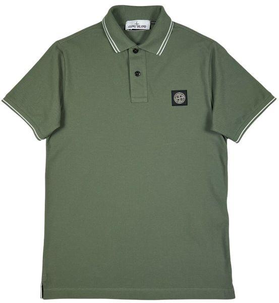 Stone Island Poloshirt - Sage Green
