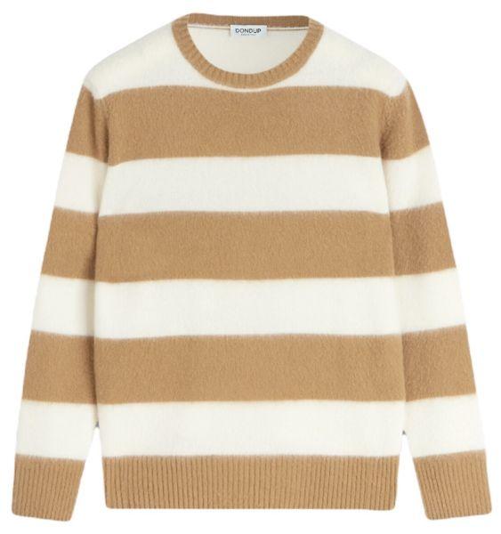 Dondup Soft Wool Sweater - Camel Creme