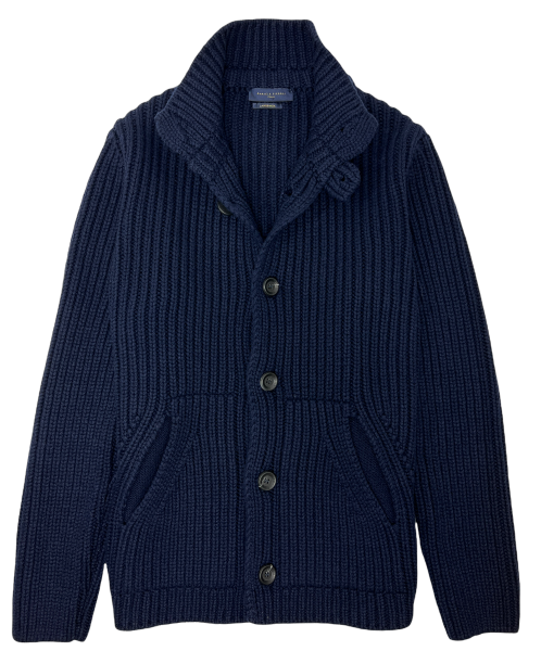 Daniele Fiesoli Knit Cardigan - Navy Blue