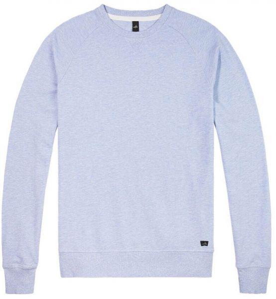 Wahts Rowe Sweater - Light Blue Melange