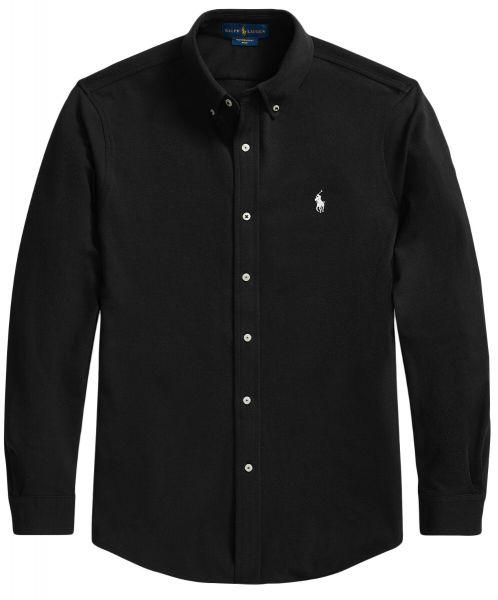 Ralph Lauren Stretch Mesh Shirt - Black