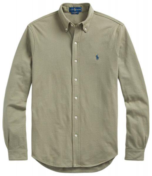 Ralph Lauren Stretch Mesh Shirt - Sage Green