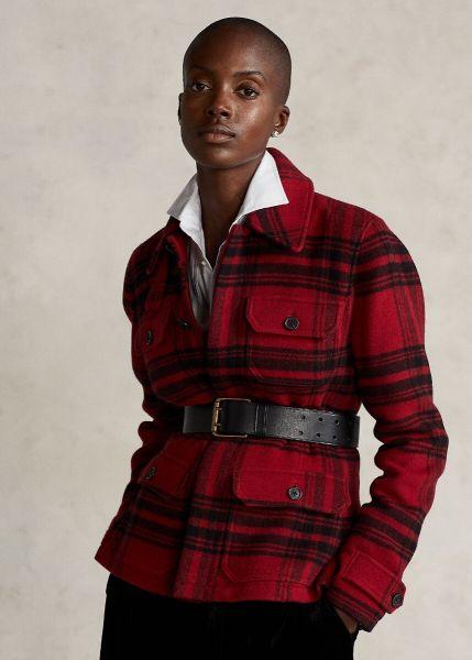 Ralph Lauren Plaid Button Jacket