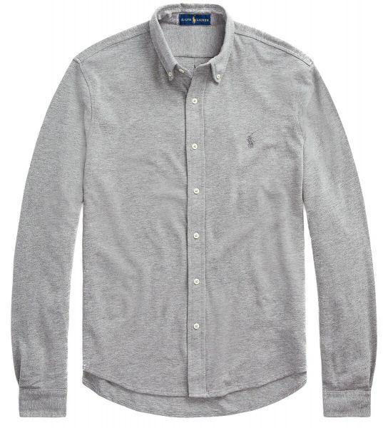 Ralph Lauren Stretch Mesh Shirt - Grey