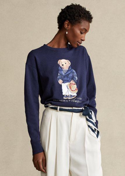 Ralph Lauren Bear Sweatshirt - Dark Blue