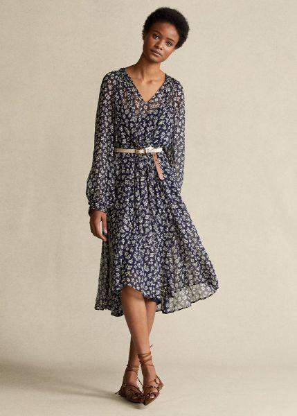 Ralph Lauren Long Sleeve Dress - Blue