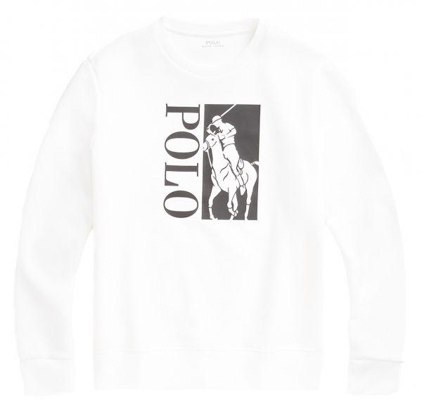 Ralph Lauren Print Sweatshirt - White