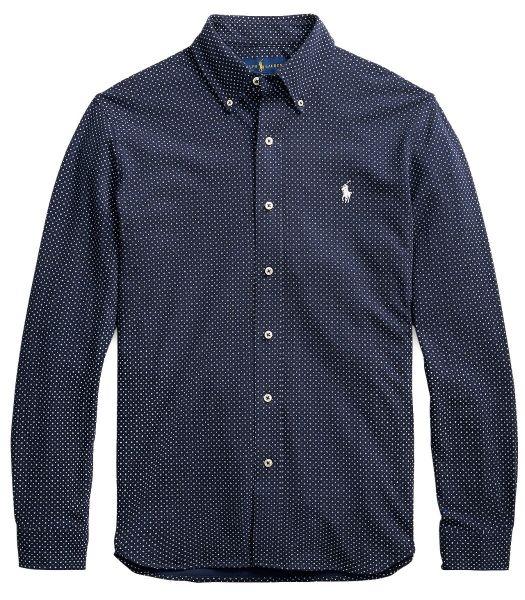 Ralph Lauren Pique Shirt - Navy