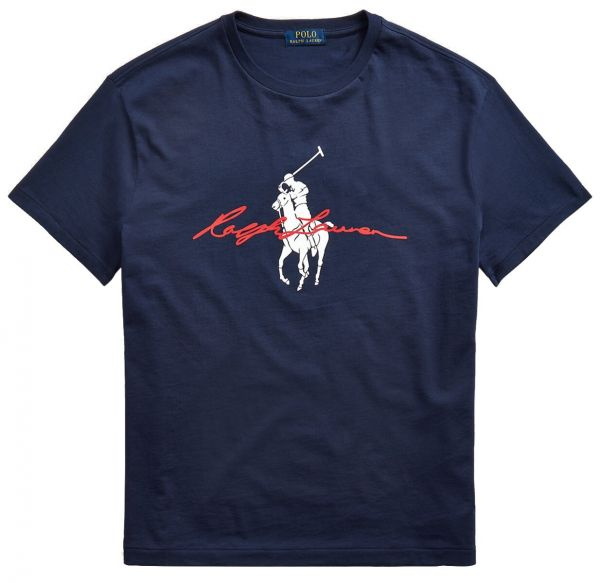 Ralph Lauren Signature T Shirt - Blue