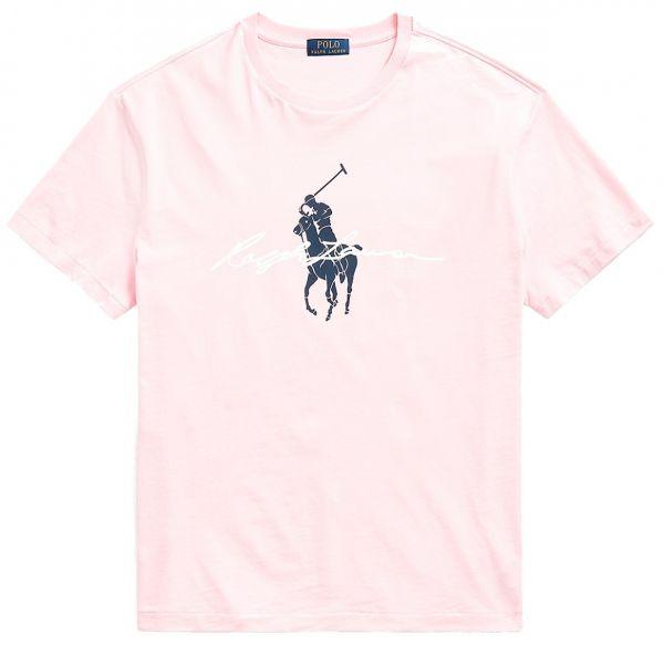 Ralph Lauren Signature T Shirt - Pink