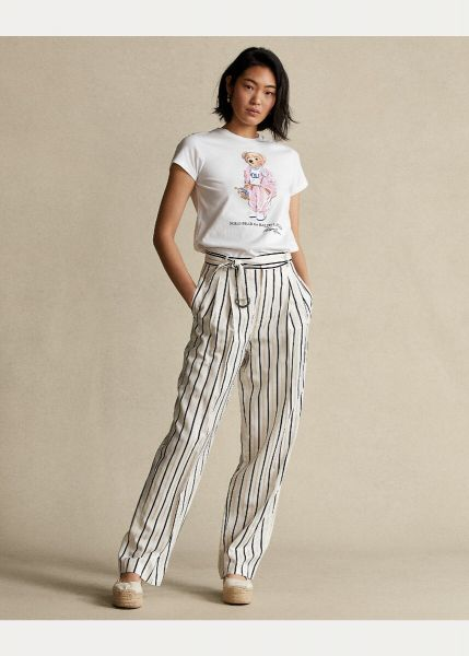 Ralph Lauren Picnic Polo Bear T Shirt - White