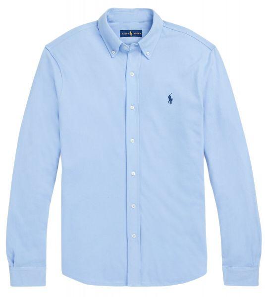 Ralph Lauren Stretch Mesh Shirt - Light Blue