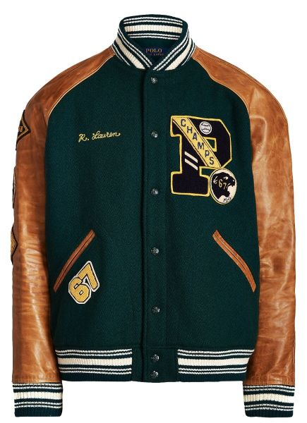 Ralph Lauren - The Iconic Letterman Jacket