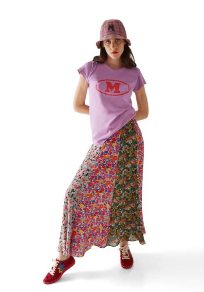 M Missoni Logo T Shirt - Purple