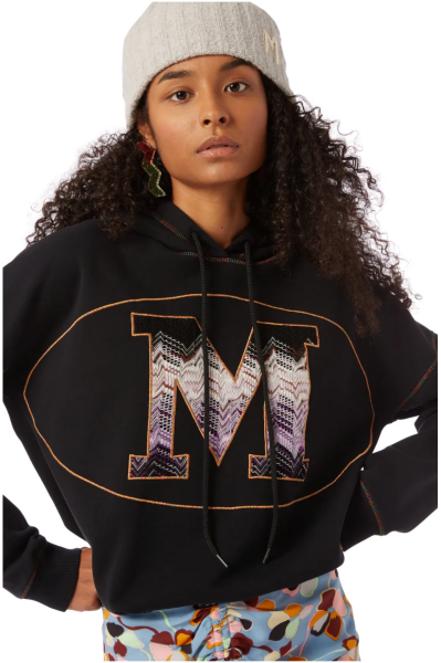 Missoni M Hoodie - Black