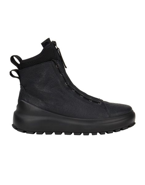 Stone Island Leather Dyneema Dual Lacing System Boots