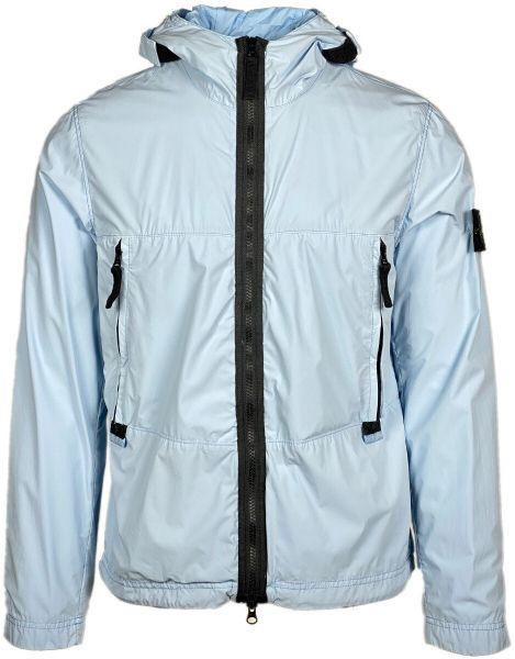 Stone Island Skin Touch TC Jacket - Light Blue