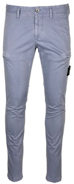 Stone Island Skinny Fit Cargo Pants - Blue/Grey