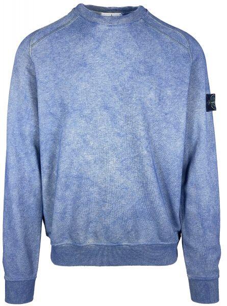 Stone Island Dust Treatmant Sweatshirt - Blue