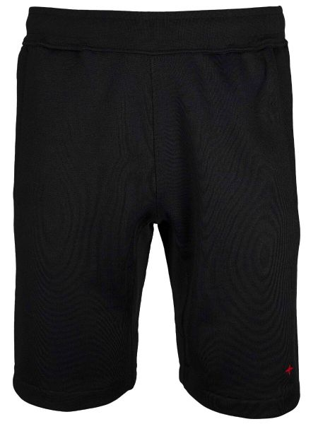 Stone Island Marina Fleece Shorts - Black
