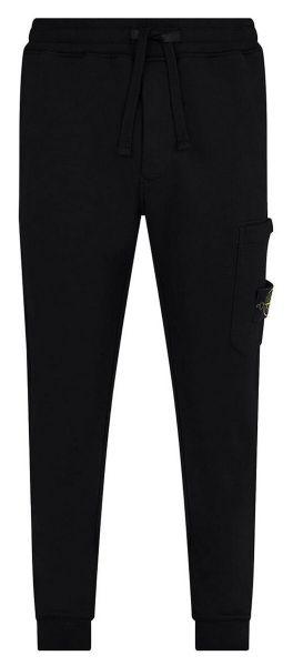 Stone Island Cotton Fleece Pants - Black