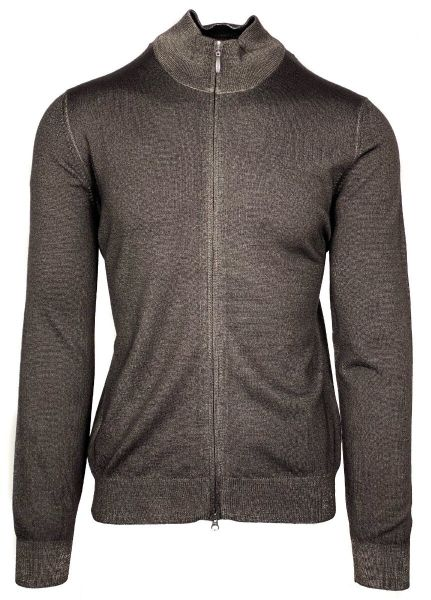 Cellini Knitted Cardigan - Brown